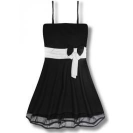 Elegáns női ruha 2637 fekete