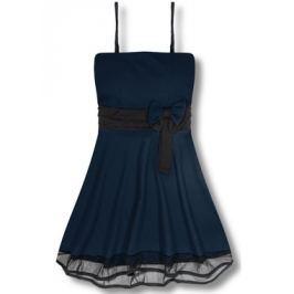 Elegáns női ruha 2637 sötétkék