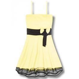 Elegáns női ruha 2637 sárga