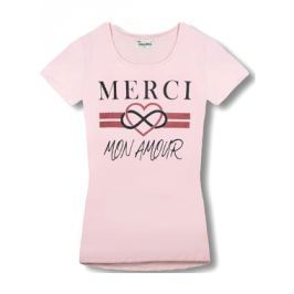 Női póló 8014 rózsaszín