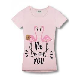 Női póló  8018 rózsaszín