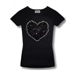 Női póló 9543 fekete
