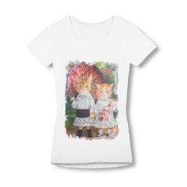 Női póló 0127 fehér