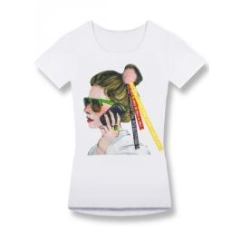Női póló 0297 fehér