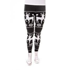 Női leggings H013 fekete
