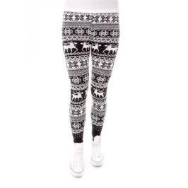 Női leggings H014 fekete
