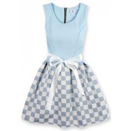 Elegáns női ruha 3054K világoskék