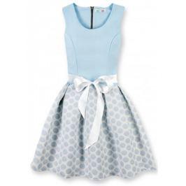 Elegáns női ruha 3054O kék