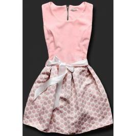Elegáns női ruha 3054O rózsaszínű