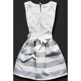 Elegáns női ruha 3054PAS sötétkék