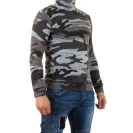 Férfi pulóver, magas gallérral Uniplate