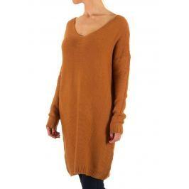 Női elegáns, hosszú pulóver