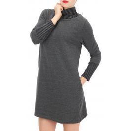 Női ruha, meleg garbó pulóver BS Saddle
