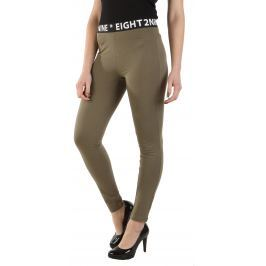 Női egyszerű nadrágok Nyolcadik