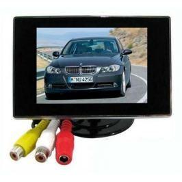 3.5' TFT LCD mini monitor autóba színes tolatókamera monitor