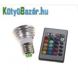 E27 300-lumenes RGB reflektor izzó távirányítóval  (3W, 85-265V)