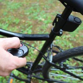 Távirányítós kerékpár riasztó