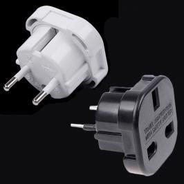 Hálózati adapter UK 3 pin-ről EU 2 pin-re