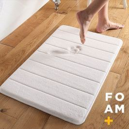Memóriahabos fürdőszobai szőnyeg