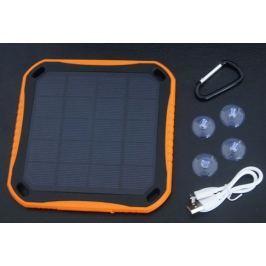 Extra strapabíró napelemes power bank 5600 mAh beépített lámpával