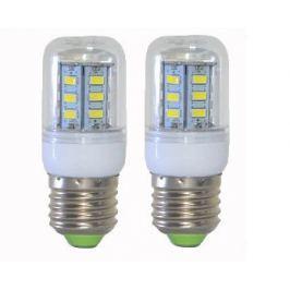 LED izzó 24 ledes E27-es foglalattal (jégfehér)