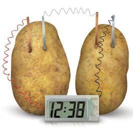 Krumplival működő óra