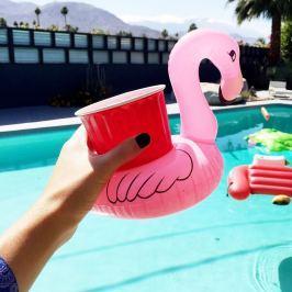 Felfújható flamingó italtartó MOST 4 DARAB 1 ÁRÁÉRT