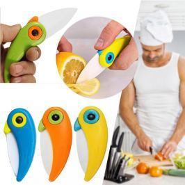 3db Papagáj formájú kerámia kés