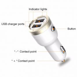 Bluetooth FM transmitter USB bemenettel