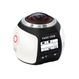 180°-os Panoráma Akció Kamera 4K, WiFi