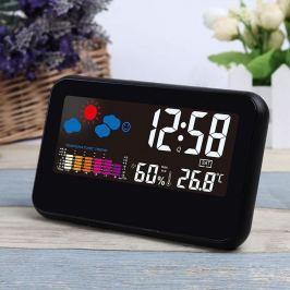 Időjárás állomás ébresztő órával