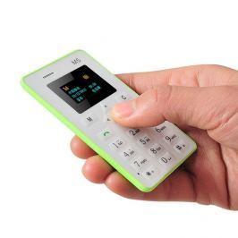 Bankkártya méretű telefon