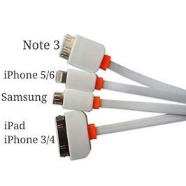 4 az 1-ben usb kábel telefonokhoz