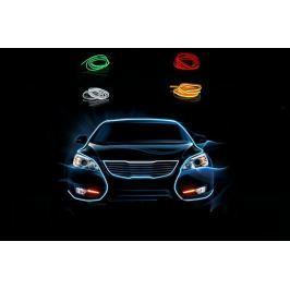 Autós beltéri fényszalag 5 színben (2 méter)