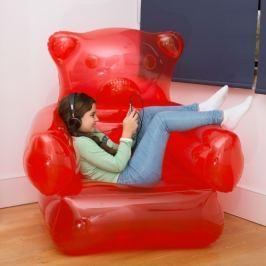 Gumimaci fotel, felfújható fotel
