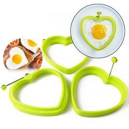 Szív alakú tojás – és palacsintasütő forma
