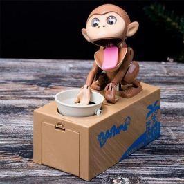 Agresszív pénzt spóroló majom