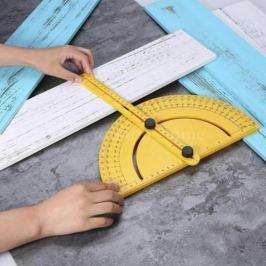 Multifunkciós szögmérő vonalzóval