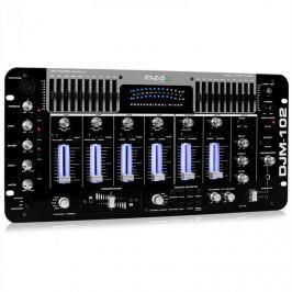Ibiza Professzionális IBIZA DJM-102 4-utas mix, LED, visszhang