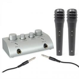 Skytec Mini, 2-csatornás karaoke keverőpult, szett