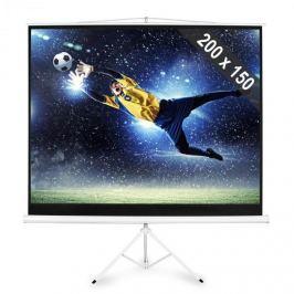 FrontStage PSDC-100, Állványos vászon 200 x 150 cm méretekkel, 4:3 kép