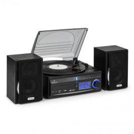 Sztereó berendezés Auna DS-2, lemezjátszó, MP3 rögzítés