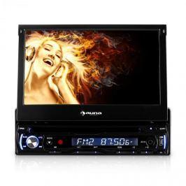 Autórádió Auna DTA90 18cm Moniceiver DVD-lejátszó USB-SD