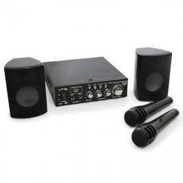 Kompakt PA szett LTC Star-2, USB, SD, MP3, 200 W, 2 x mik