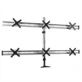 Auna ET01-C06 asztali monitorállvány, 6 monitorra, <6x8kg