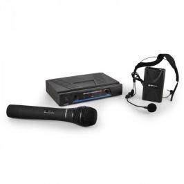 VHF mikrofon szett QTX 171.810, 2-csatornás,vezetéknélküli