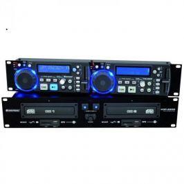 Omnitronic XDP-2800, dupla CD lejátszó, SD, USB