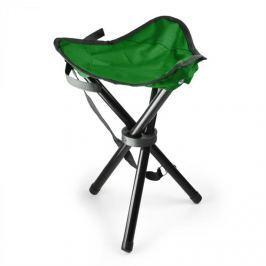 DURAMAXX Hordozható kempingszék, horgász szék, zöld-fekete, 500 g