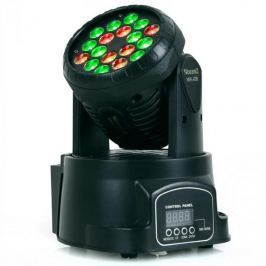 Beamz LED 108 Movinghead RGB, 12/4 csatorna, DMX
