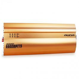 Auna Goldhammer 5-csatornás erősítő autóba, 6600 W, arany